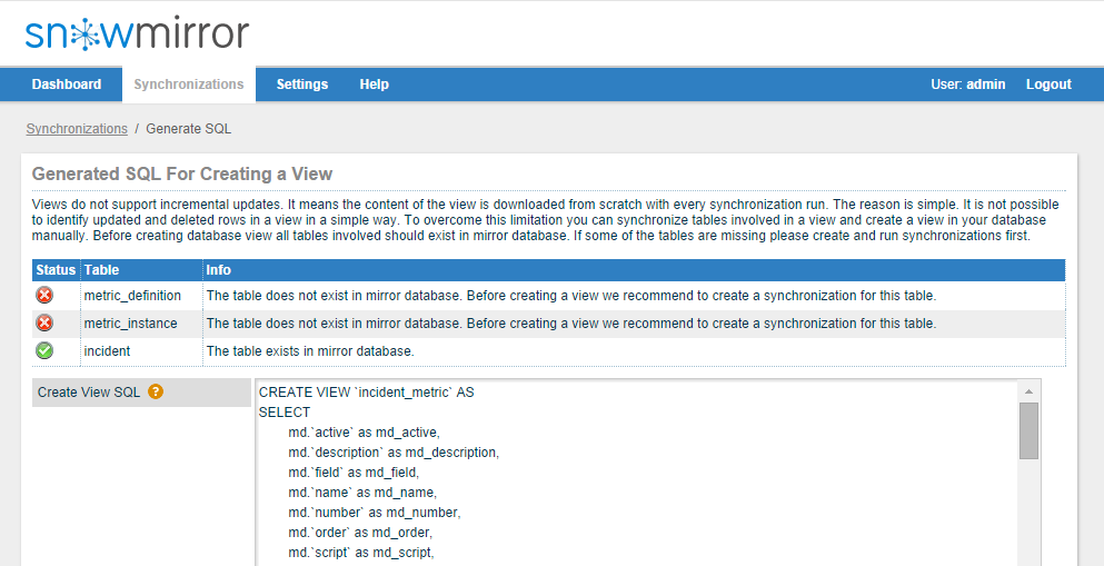 SnowMirror 2 1 Released - New REST API - SnowMirror